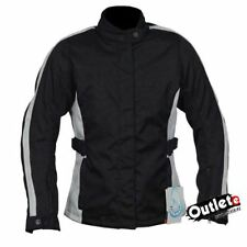 CHAQUETA MUJER BSTAR CHARMING NEGRO BLANCA IMPERMEABLE