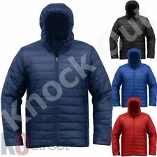 Mens Soulstar Hooded Quilted Padded Lightweight Jacket Puffa Coat Size BNWT