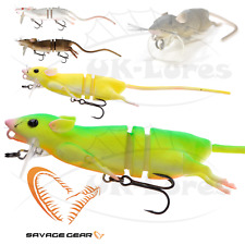 Savage Gear 3D RAD Rat surface lure fishing new firetiger 20cm 32g pike tackle