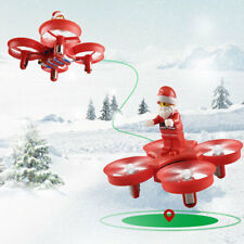 JJRC H67 Flying Santa Claus Remote RC Quadcopter Drone Kids Christmas Gift Toys