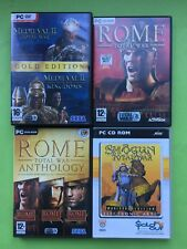 Total War PC Rome Medieval Shogun Games Selection List + Free UK Delivery