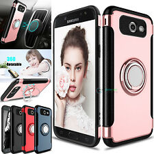 Hybrid Ring Stand Armor Cover Case for Samsung Galaxy J7 V 2017 /Perx
