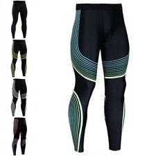 New Pants Compression Men Fitness Long Base Layer Tights Exercise Trouser Pants
