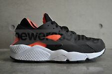 Nike Air Huarache - Black / Total Orange - Anthracite