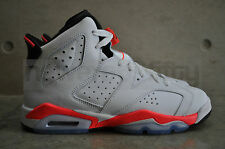 Nike Air Jordan 6 Retro 'White Infrared' BG (GS) - White/Infrared-Black