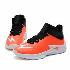 Men Basketball Sports Shoes Sneakers Outdoor Athletic Running High Top Casual Sz
