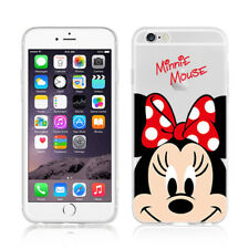 Disney cartoon Mickey/ Minnie mouse TPU & Soft case for iPhone 5/6/6s/7/8/Plus