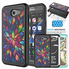 For Samsung Galaxy Express Prime 2/J3 Emerge Shockproof Rubber Hard Ca