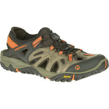 Merrell All Out Blaze Sieve Mens Footwear Aqua Shoes - Light Brown All Sizes