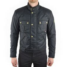 Belstaff Brooklands Wax Motorcycle Jacket - Black - All Sizes