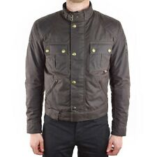 Belstaff Brooklands Wax Motorcycle Jacket - Brown - All Sizes