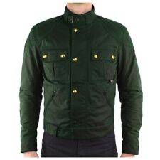 Belstaff Brooklands Wax Motorcycle Jacket - British Racing Green - All Sizes