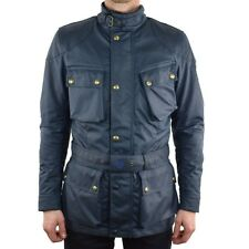 Belstaff Tourist Trophy Wax Motorcycle Jacket - Navy - All Sizes