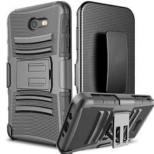 For Samsung Galaxy J7 Sky Pro / J7 Perx Carrying Phone Cover + Belt Cl