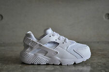 Nike (TD) Toddlers Air Huarache Triple White - White/Platinum White