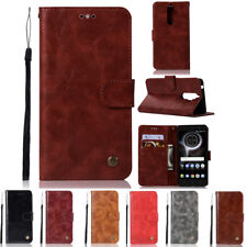 Luxury PU Leather Flip Wallet Stand Card Slot Cover Case For Lenovo K8 Note