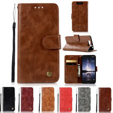 For ZTE Blade V8 Luxury Card Slot Flip Wallet PU Leather Stand Case Cover Skins