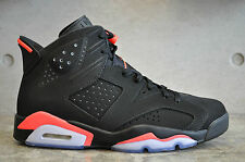 Nike Air Jordan 6 Retro - Black/Infrared 23-Black