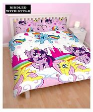 Children My Little Pony Equestria Reversible Double Rotary Duvet Bedding Set