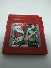 Resident evil limited edition Gaiden  game boy color GBA.New