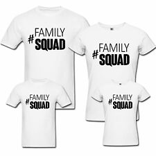 Family Squad - Family T-shirts - Set Of 4