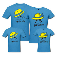 I Love Family - Matching Family T-shirts - Set Of 4