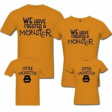 Monster - Family T-shirts - Set Of 4