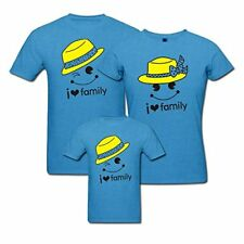 I Love Family - Matching Family T-shirt - Set of 3