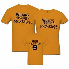 Moster - Matching Family T-shirt - Set of 3