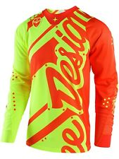 Maillot Motocross Troy Lee Designs 2018 SE Air Shadow Jaune-Orange