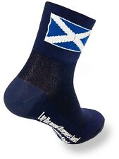 Calcetines SockGuy Classic - 3 Inch Scottish Flag Azul