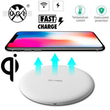 UGI Ultra Slim Qi Wireless Charger Charging Pad Mat for Apple iPhone X 8/8 Plus