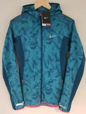 Nike Trail Kiger Women's Running Run Blue Mac Rain Coat Jacket BNWT XS UK 4 / 6