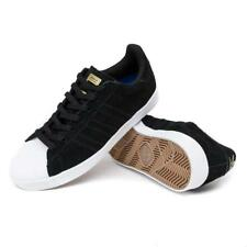 Adidas Superstar Vulc Shoes - Core Black/FTW White/Gold