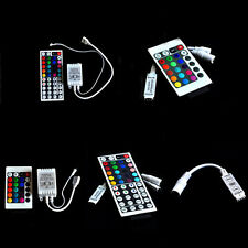 3/10/24/44 Keys Mini IR Remote Controller per 3528 5050 RGB LED Strip Light