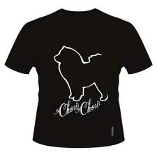 Chow Chow T-Shirts, Short sleeved, Round-Neck, Ladies & Men's sizes