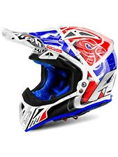 Casco MX Airoh Aviator 2.2 Six Days Rojo