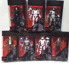 "Star Wars Black Series 6"" action Figures Jyn Erso Han Solo Kylo Ren Jango Fett"