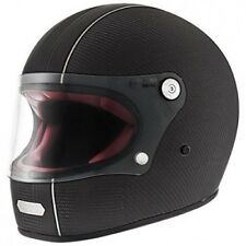 Casco moto Integral Premier Trophy Carbon T9BM mate