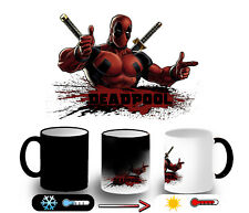 TAZZA MAGICA DEADPOOL HERO LOCO GIOCHERELLONA MAGIC MUG tazze E'