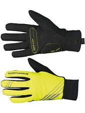 Guantes de ciclismo Northwave Power 2 Gel Full Amarillo Fluo-negro