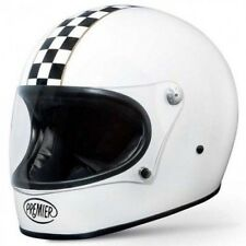 Casco moto Integral Premier Trophy CK Blanco - Bucle dobles D