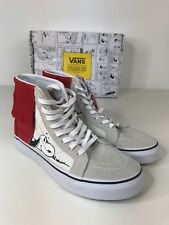 VANS AUTHENTIC SK8 HI PEANUTS SNOOPY DOG HOUSE HIGH TOP SKATE SHOES TRAINERS
