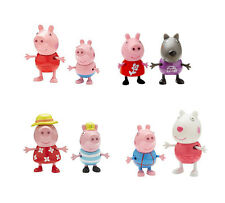 PEPPA PIG TWIN FIGURE PACK HOLIDAY OR THEME PARK - PEPPA, GEORGE, SUZY DANNY
