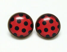 Simil Ladybug Orecchini Carnevale Cosplay Lady Bug Earrings LBUEAR02 E