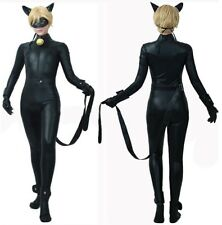 Inspired Miraculous Chat Noir Costume Carnevale Ladybug Cosplay Costume CHAN06 E