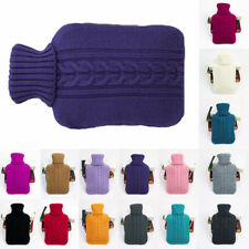 Cosy Knitted Large Hot Water Bottle Cover Quality Beautiful Knitted Covers Gifts