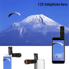 18X 12X 8X  Zoom Optical Clip-on Telescope Phone Camera Lens  For Appl