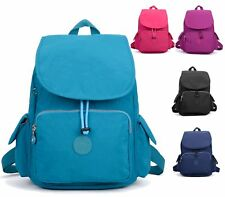 LADIES NYLON UNISEX RETRO COMBAT BACKPACK RUCKSACK SCHOOL COLLEGE UNI TRAVEL BAG