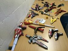 POWER RANGERS WEAPONS SWORDS BLASTERS GUNS YOU CHOOSE